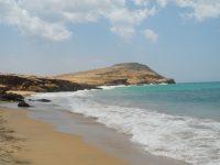 Sur la plage du Pilon, Cabo