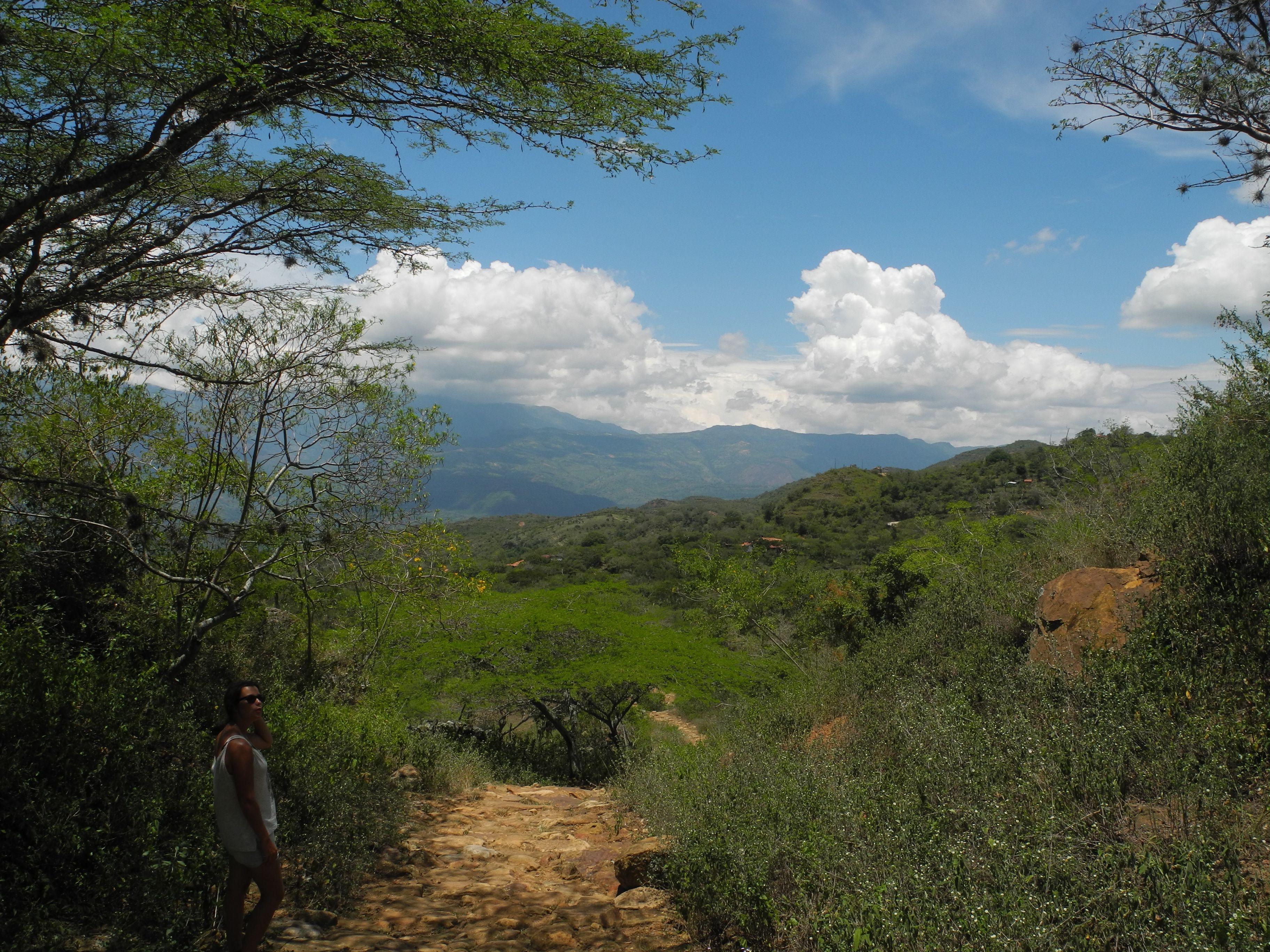 Entre ciel et vert à San Gil
