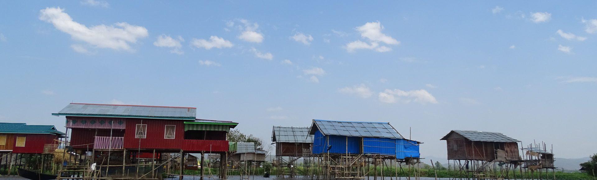 Au frais en état Shan : Hsipaw et le lac Inle