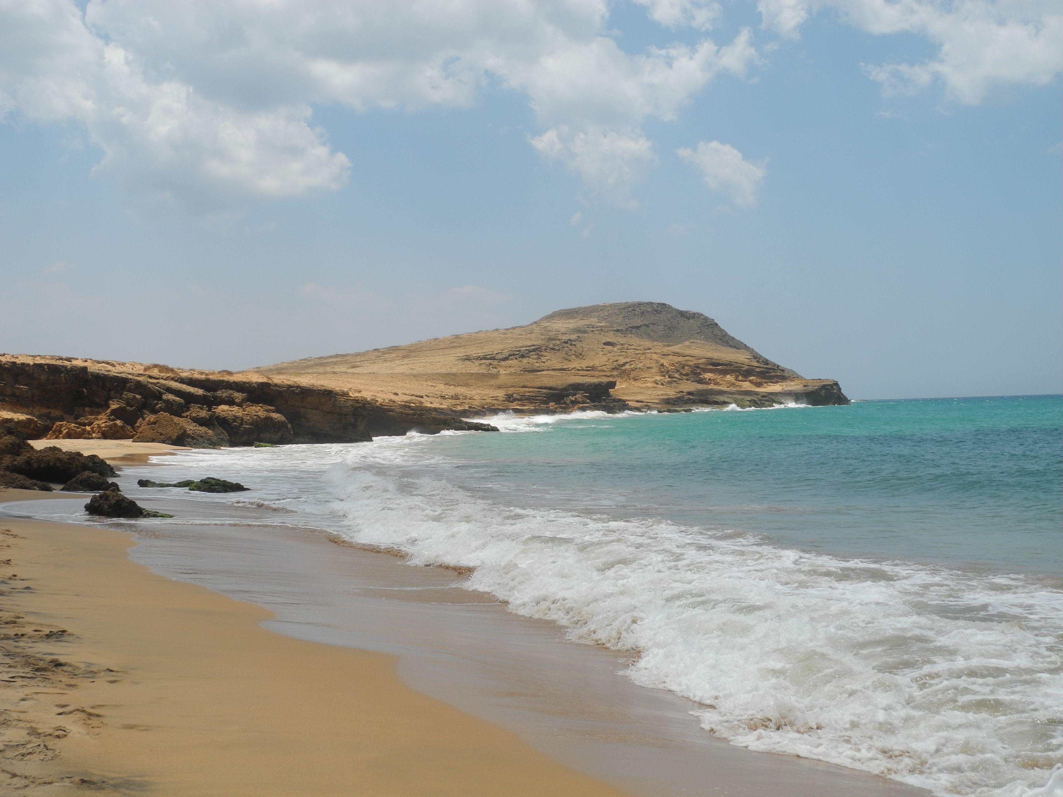 Chaleur bonheur dans la Guajira