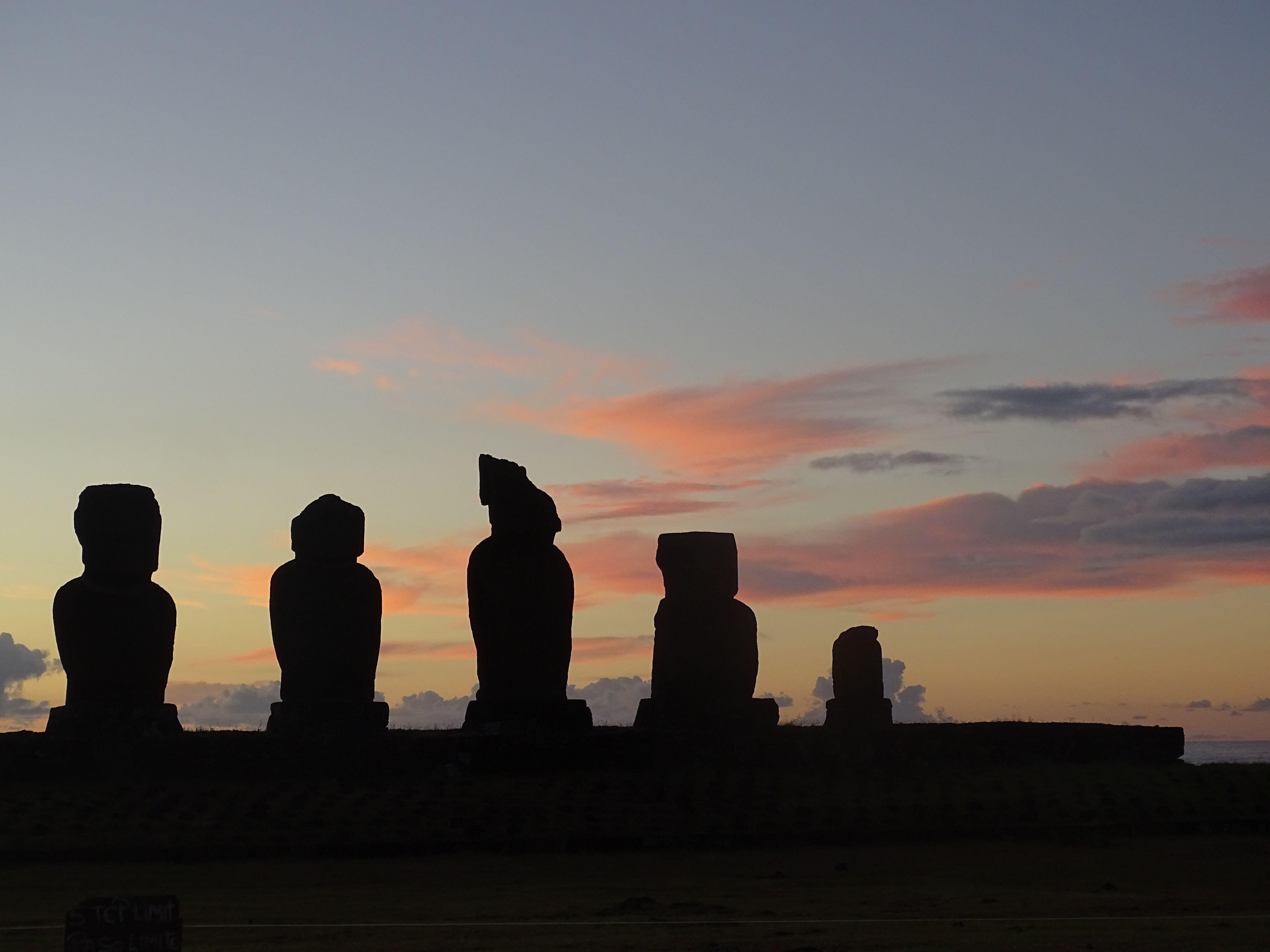 L'ouest et le nord de Rapa Nui : d'Orongo à Anakena